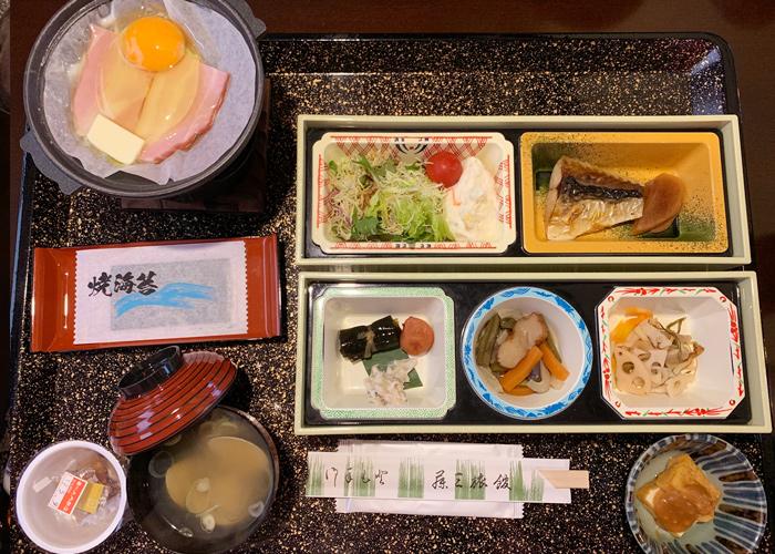 花巻温泉郷 藤三旅館の朝食